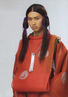 """Syota Matsuda (Japanese acter).   Japanese miniseries """"Taira no Kiyomori"""".   early from last years of Heian era in the Kamakura era."""