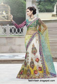 bridal-wedding-saree-dress-designs-indian-pakistani-fancy-bridal-wedding-party-wear-saree