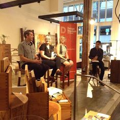 UNITE Sustainable Design panel featuring The Joinery's furniture designer, Taryn Johnson. @designmuseumpdx @looptworks #SERA
