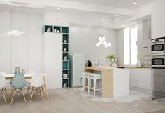 Multi-fonctions, rénovation, appartement Lyon 02, particuliers, décoration, travaux, architecture d'intérieur, agence LANOË Marion, agencement, aménagement