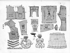 Victorian Children's Clothing, Victorian Costume, Steampunk Costume, Antique Clothing, Steampunk Clothing, Boys Sewing Patterns, Doll Clothes Patterns, Vintage Sewing Patterns, Sailor Outfits