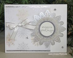 Nov 2017 Silver Snowflake