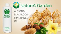 Almond Macaroon Fragrance Oil - Nature's Garden