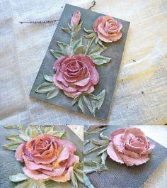 Ателье handmade-подарков. Декор вещей, картины, ботанические копии, бижутерия окрашивание часть 3