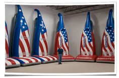 Tacony's Giant Inflatable Vacuum Replicas #inflatables #advertising