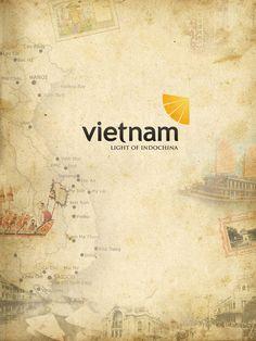 Rebranding Vietnam Tourism:  Logo and Ads campaign by Nam Quach , via Behance