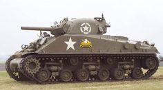 M4A3 Sherman Tank, standard turret mounted