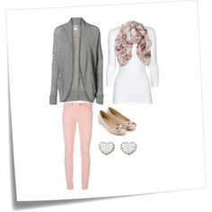 Valentines School Party Outfit, created by real-housewife-of-tazewell on Polyvore