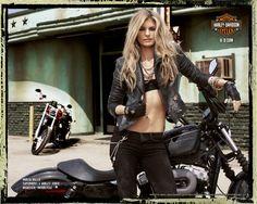 Marisa Miller vs Harley Davidson