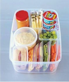 Snack caddy for fridge