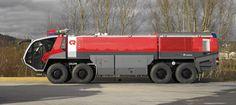 Vehículos de extinción de incendios en los aeropuertos - Rosenbauer