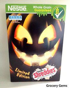 Nestlé Spooky Shreddies - Limited Edition Cinnamon Flavour! PD