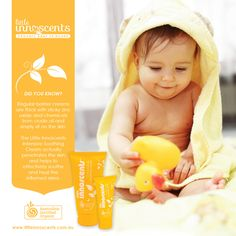 DID YOU KNOW? Regular barrier creams are thick with sticky zinc oxide and chemicals from crude oil and simply sit on the skin. The Little Innoscents Intensive Soothing Cream actually penetrates the skin and helps to effectively soothe and heal the inflamed area.  #organic #organicskincare #babycare #parenting #babies