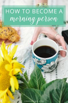 There are many benefits to getting up early. You'll have more time to get things done and be more productive and focused. Want to know how to love your mornings? Here's 5 tips on how to become a morning person..
