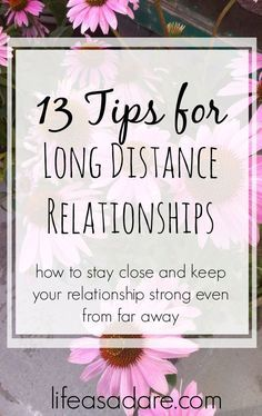 Being in a long distance relationship can be hard, and they definitely require some work, but they can be so rewarding! Here are some of the best long distance relationship tips from 13 bloggers!
