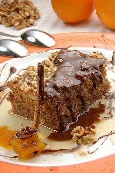 Καρυδόπιτα Pudding, Treats, Cooking, Desserts, Recipes, Food, Thermomix, Flan, Baking Center