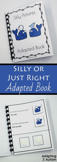 I created this adapted book as a visual discrimination activity for my students with autism.  Can be used as a work task in a special education classroom or occupational therapy.