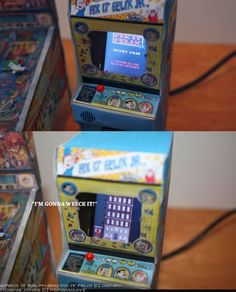 [disney universe] fix it felix Jr arcade cabinet