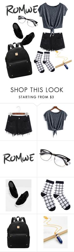 """Romwe"" by pizza-olives-onions ❤ liked on Polyvore"