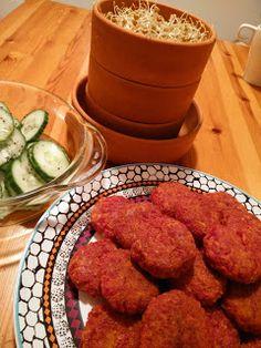 La Alquimista: MIni hamburguesas de avena