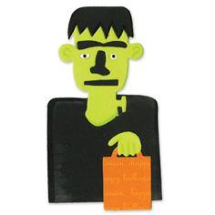 Sizzix Bigz Die - Frankenstein w/Treat Bag $19.99