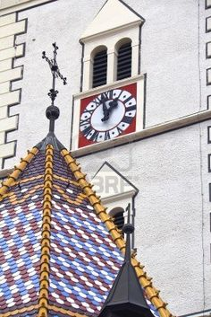St Marks Church, Zagreb - detalles