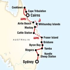 East Coast Encompassed - Sydney to Cairns in 17 days