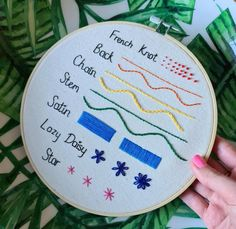 Embroidery Stitching Full Guide