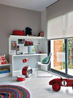 Un dormitorio para jóvenes roqueros