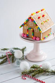 Maison en pain d'épices { DIY Noël } | Lilie Bakery