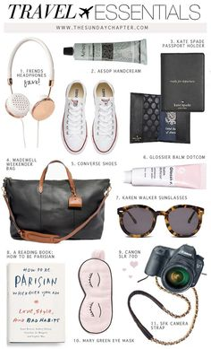 Can't Leave Without These Travel Essentials | Sunday Chapter | Bloglovin'