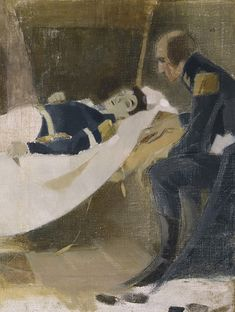 Helene Schjerfbeck's work Death of Wilhelm von Schwerin is a history painting based on J. Runeberg's poem by the same name. Schjerfbeck has made altogether three interpretations of the subject. Helene Schjerfbeck, Helsinki, A4 Poster, Poster Prints, Rose In A Glass, European Paintings, Portraits, First Art, Global Art