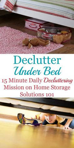 How to declutter und