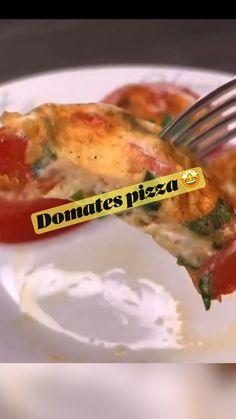 Vegetarian Pizza, Healthy Snacks, Healthy Recipes, Fun Baking Recipes, My Favorite Food, Favorite Recipes, Food Tasting, Breakfast Pizza, Creative Food