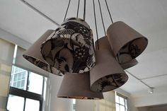 Objects of Design Copper and Silk Lighting - Mad About The House Lampshades, Light Shades, Bespoke Lighting, Copper, Rocket Lamp, Pendant Light, Cluster Lights, Light Project, Objects
