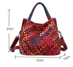 Spedizione Gratis Branded Tote Bags, Leather Bags Handmade, Knitted Bags, Famous Brands, Designer Handbags, Women, Products, Gingham Quilt, Designer Purses