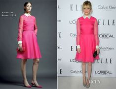 Emma Stone In Valentino - Elle's 19th Annual Women In Hollywood Celebration