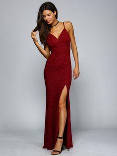 Abendkleid mariella rot