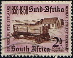 South Africa 1958 German Settlers Fine Used SG 168 Scott 216 Other South African Stamps HERE
