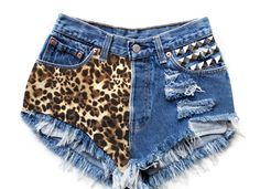 Trying to find cool stuff to do to shorts for the summer - love the idea of sewing cool fabric on one side!