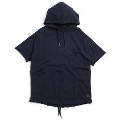 10 Deep - Mothra Shortsleeve Hooded Sweatshirt Navy – MTVTN.com