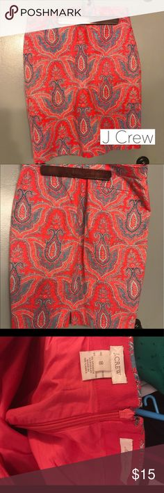 """J Crew No. 2 Pencil Skirt Gorgeous No. 2 Pencil skirt from J Crew. Minimally worn, great condition! Measures approx 22"""" from waist to hem. A beautiful addition to your summer work wardrobe! J. Crew Skirts Midi"""