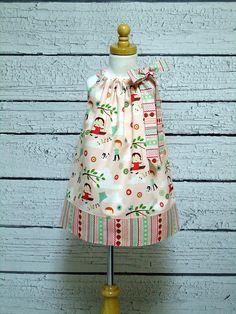 Girls Pillowcase Dress Fly a Kite Strawberries - Size 6 - 12 month 12 - 18 month 18 - 24 month / 4 / 6 / 8 / 9 & Harriet\u0027s Haberdashery | Haberdashery Etsy and Craft pillowsntoast.com