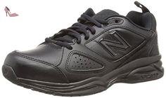 New Balance Wx624Ab4, Chaussures de running entrainement femme, Noir (Black 001), 42.5 - Chaussures new balance (*Partner-Link)
