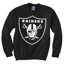 9cdad686f OAKLAND RAIDERS LA RETRO NFL JUMPER SWEATSHIRT OBEY DRAKE SWEATER DOPE  TRILL Oakland Raiders