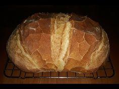 #MARADJOTTHON A mi jól bevált családi kenyér receptünk - előtésztával - YouTube Bread, Food, Drinks, Youtube, Drinking, Beverages, Brot, Essen, Drink