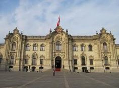 This is the government house. Peru's government is a Unitary State.