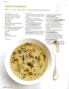 Revista Bimby Janeiro 2015 Light Recipes, My Recipes, Soup Recipes, Vegetarian Recipes, Healthy Recipes, Kitchen Reviews, Good Food, Yummy Food, Portuguese Recipes