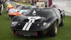 Whether it flew factory Ford colors or the legendary Gulf livery, your favorite GT40 was probably at Pebble Beach this past weekend. www.villaford.com