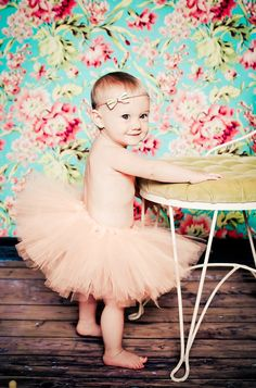 Georgia Peach Tutu Toddler Tutu Newborn Tutu Summer Tutu Baby Girl Tutu Photography Prop on Etsy, $35.00